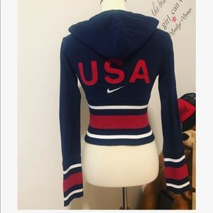 Nike USA Olympic MMIV zip up hoodie
